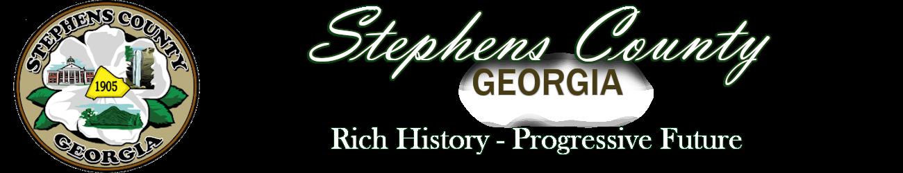 Stephens County Georgia | Official Site Logo